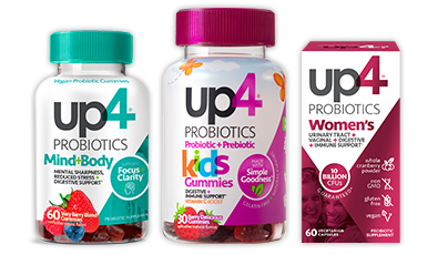 Up4 Probiotics Product Family Image